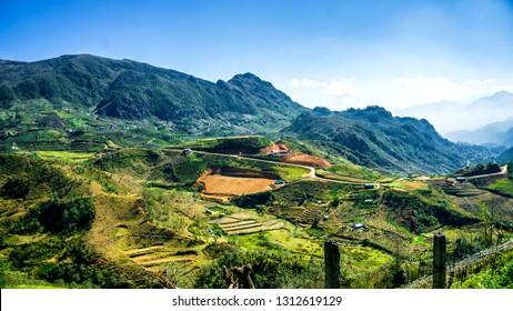 O Qui Ho Pass, Sapa Town, Lao Cai Province, Vietnam