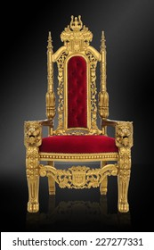 o throne of glory / in all your gloriousness / includes clipping path