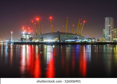 O2 arena in London, England