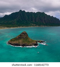 Oahu Paradise Hawaii. Island. Turquoise water