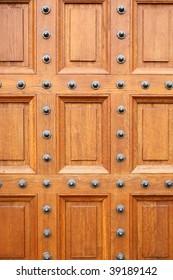 Oak chateau door