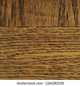 Oak grain veneer texture background. Dark brown black natural horizontal textured pattern, large detailed rugged wood macro closeup, old aged coarse rough wooden detail vintage copy space