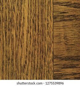 Oak grain veneer texture background. Dark brown black natural horizontal textured vertical pattern, large detailed rugged wood macro closeup, old aged coarse rough wooden detail vintage copy space