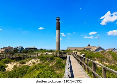 Oak Island Lighthouse in North Carolina