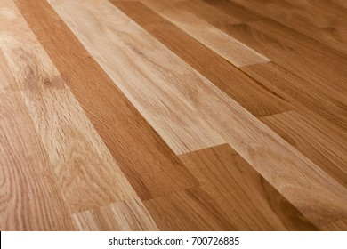 Oak parquet, natural building material