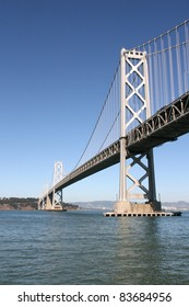 Oakland bay bridge, San francisco, California, USA