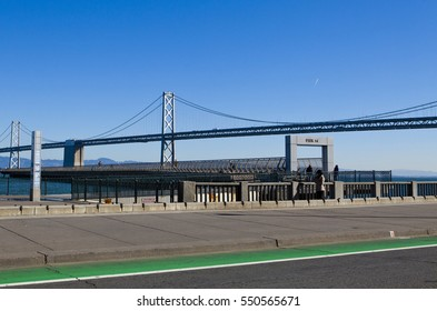 oakland bridge, san francisco, california, united states.