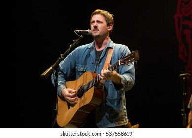 Oakland, CA/USA - 11/20/16: Sturgill Simpson performs in Oakland, CA.  Simpson has been nominated three times for Grammy Awards.  Rolling Stone listed him 18th of their Best 2014 Albums.
