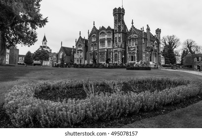 Oakley Court is a Victorian Gothic country house at Water Oakley in Bray in the county of Berkshire. Built in 1859 it is a Grade II listed building that has been often used as a film location