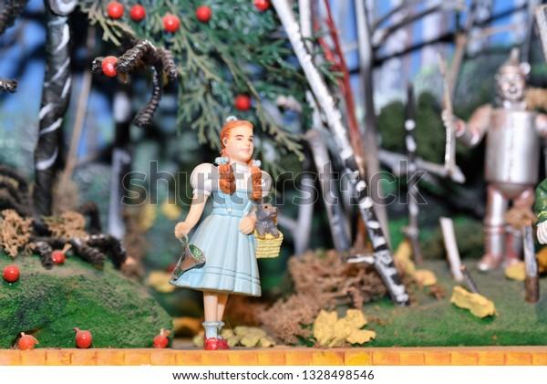 Christmas In The Oaks 2019.Oaks Pausamarch 2 2019 Beautiful Miniature Stock Photo Edit
