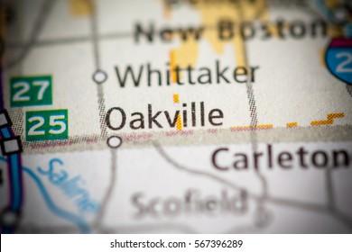 Oakville. Michigan. USA