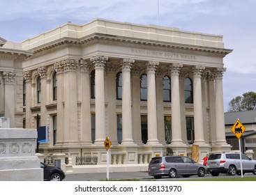 Oamaru, New Zealand- December 3, 2016: The Bank of New South Wales in Oamaru, South Island,  New Zealand.
