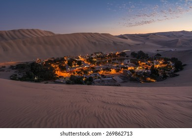 Oasis of Huacachina, Atacama Desert, Peru