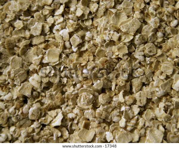 Oatmeal background image or texture image.