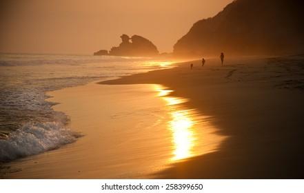 Oaxaca beach. Mexico