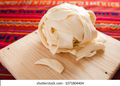 Oaxaca cheese, quesillo, queso food from Mexico
