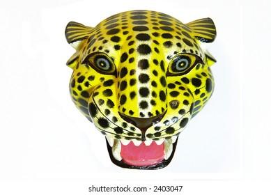 Oaxaca Leopard's Head
