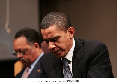 Obama in thaught