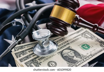 Obamacare in USA - concept image