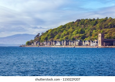 Oban and Oban ferry terminal, Scotland