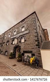 OBAN, SCOTLAND  - AUGUST 4: Oban Distillery in Oban, Northern Ireland on August 4, 2018 in Oban, Scotland
