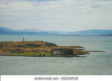 Oban Scotland Higlands City view seaside