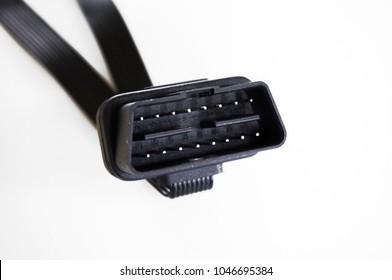 OBD2 car diagnostic connector port