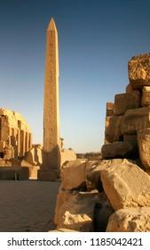 Obelisk of Thutmose I At The Temple Of Amon-Ra, Karnak, Luxor, Egypt