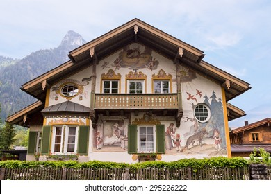 Oberammeragau Germany Little Red Riding Hood Painted House