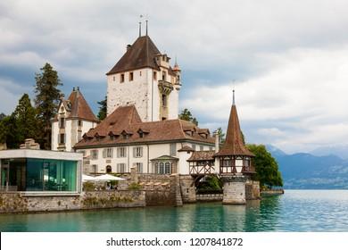 Oberhofen Castle, Canton of Bern, Switzerland