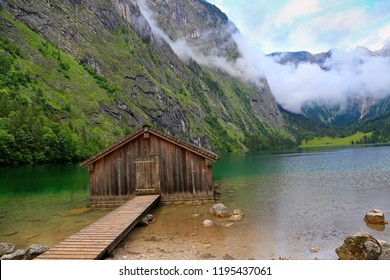 Obersee Lake, Bavaria, Germany