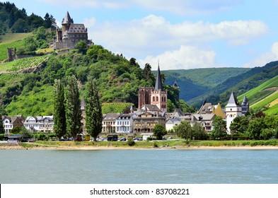 """""""Oberwesel"""" Rhine river valley, Germany"""