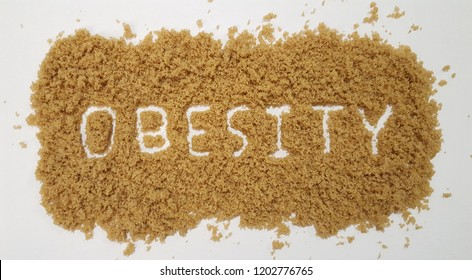 Obesity Spelled Out in Brown Sugar