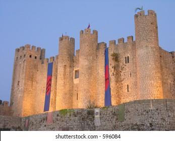obidos mediheval castle