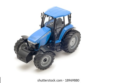 Object On White Toy Tractor