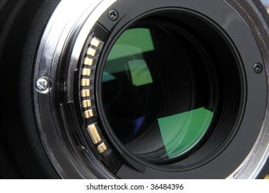 Objective lens rear detail