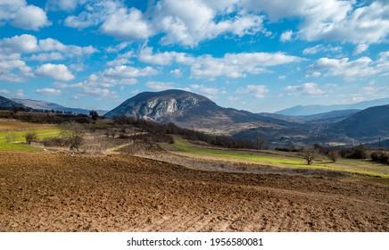 Oblik, mountain in Sicevacka klisura.