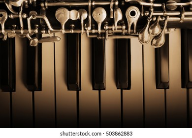 Oboe and piano classical music instruments