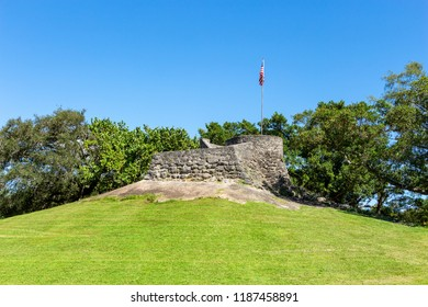 Observation mound at Greynolds Park - North Miami Beach, Florida