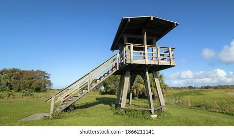 Observation Tower at the Wildlife Refuge