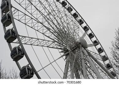 Observation wheel in Hyde Park, London, England