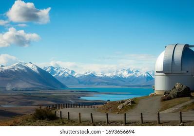 Observatory, Southern Alps, Lake Tekapo, New Zealand