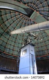 OBSERVATORY TELESCOPE DOME Lick Observatory on the summit of Mount Hamilton, east of San Jose, California, USA.