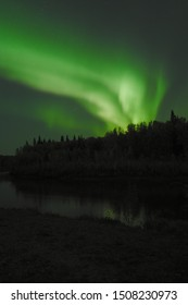 Observing Aurora (northern lights) around fairbank Alaska