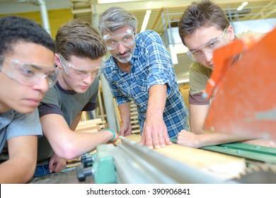 observing how a machine work