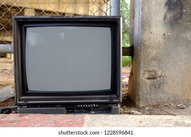 Obsoleted Old Television.
