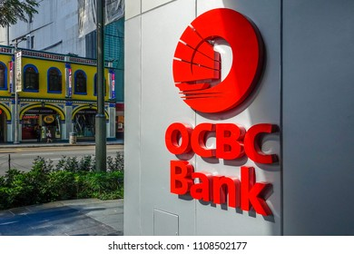 OCBC Bank in Singapore, Southeast Asia, 20. July 2015