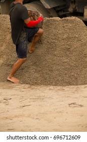 Occupation Channa cured Sand