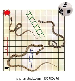 Occupational hazards - and opportunities. Featuring real snakes! And ladders.