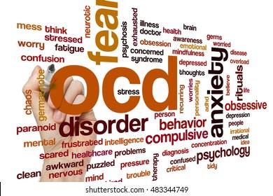 OCD word cloud